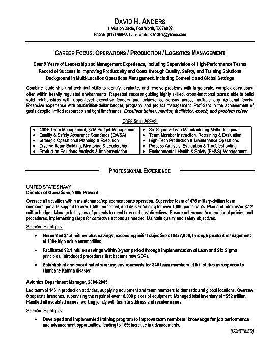 Military Resume Builder Free Military Resume Builder
