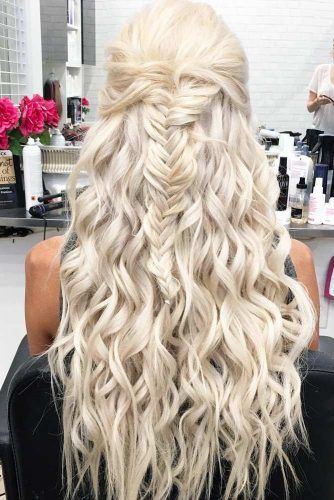 Romantic Braided Hairstyles Valentines Day 2018 ROMANTIC BRAIDED HAIRSTYLES FOR VALENTINE'S DAY