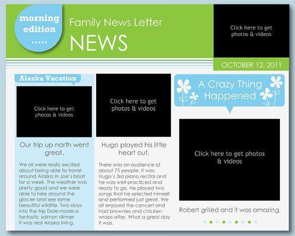 Free Templates For Newsletters In Microsoft Word Free Newsletter - newsletter templates word free