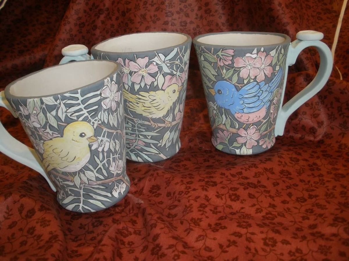 Mugs by Jody Batson Pottery mugs, Mugs, Glassware