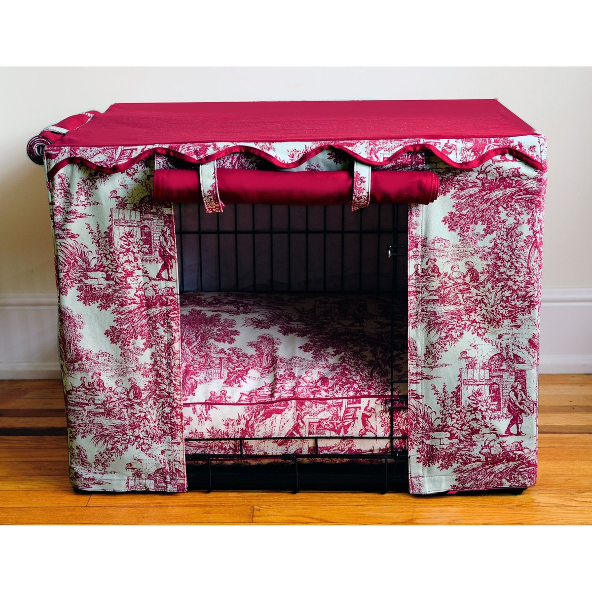 Splendide Toile de Jouy .. X ღɱɧღ ⊰ Crate cover, Dog