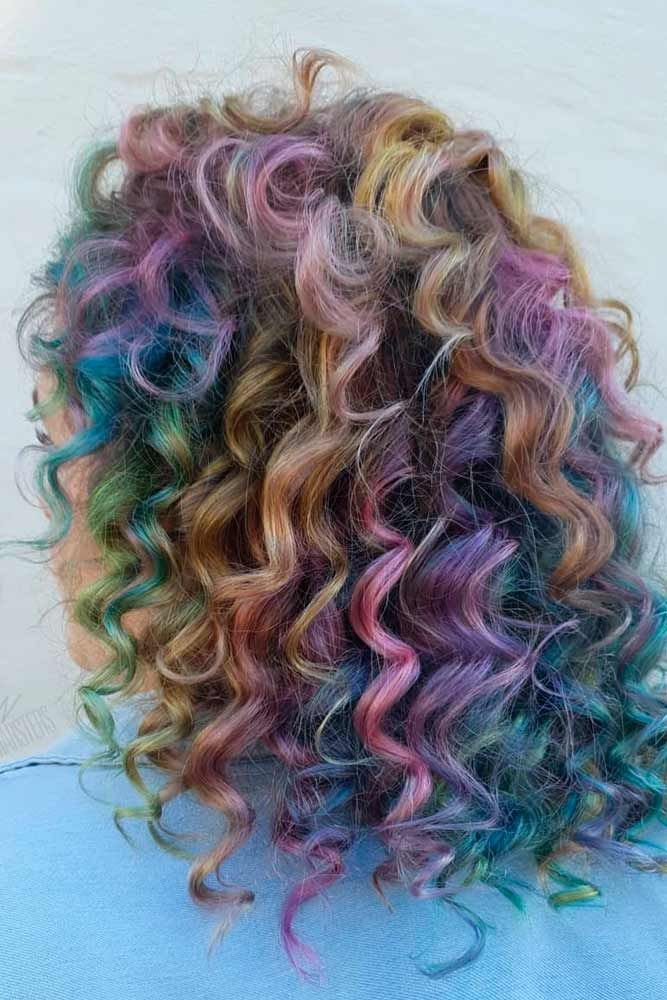 Can You Have A Perm And Still Color Your Hair? #colorfulhair #curlyhairstyles ★ The best types and styles of modern perm for your flawless look. #glaminati #lifestyle #perm