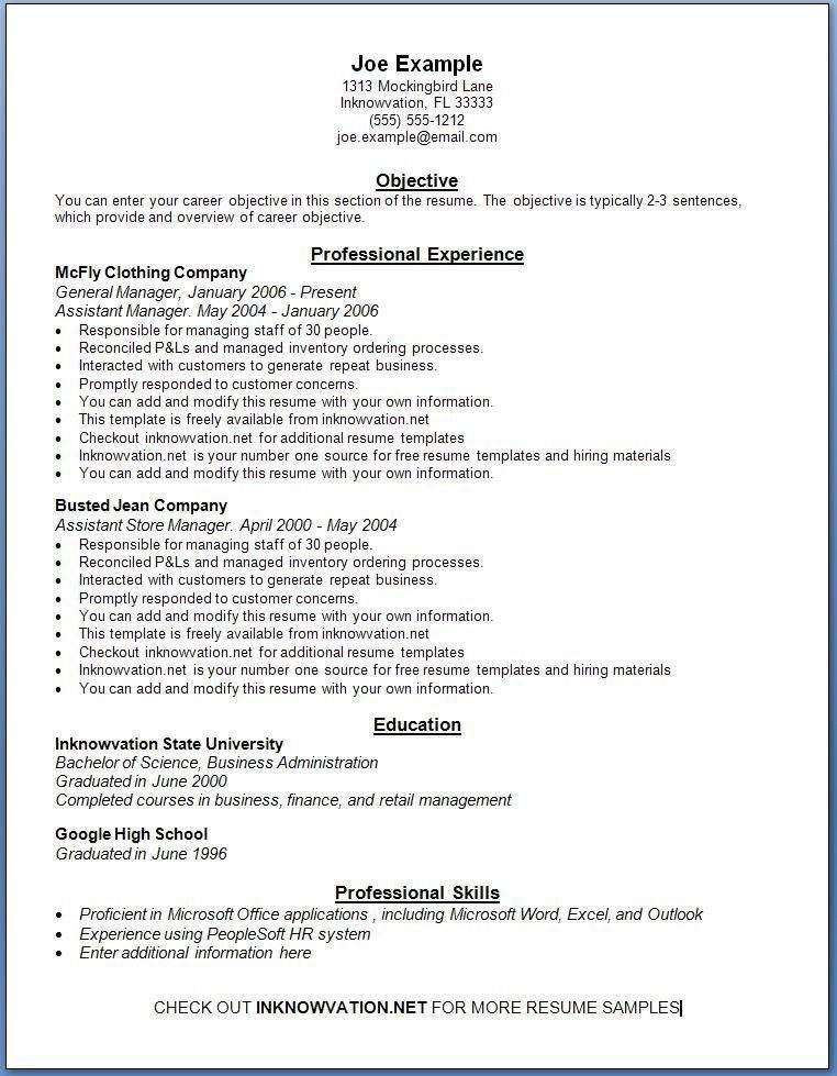 Summary On A Resume How To Write A Resume Summary 21 Best - objective summary examples