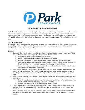 parking attendant resume 100 sle resume flight attendant flight