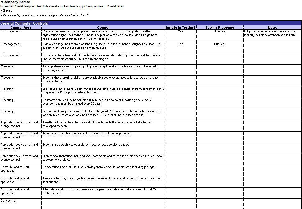 Audit Templates Marketing Audit Template Free Word Excel - audit template word