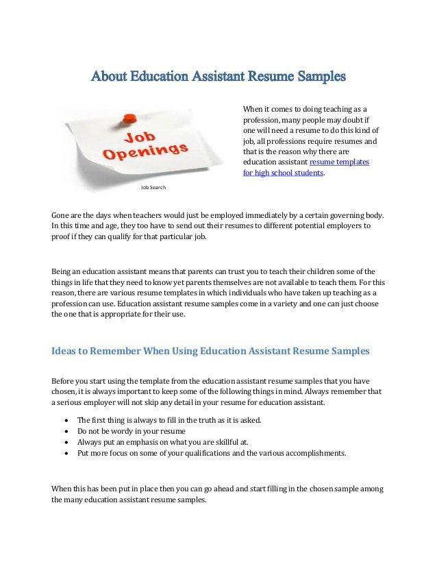 special education sample resume samples special education teacher