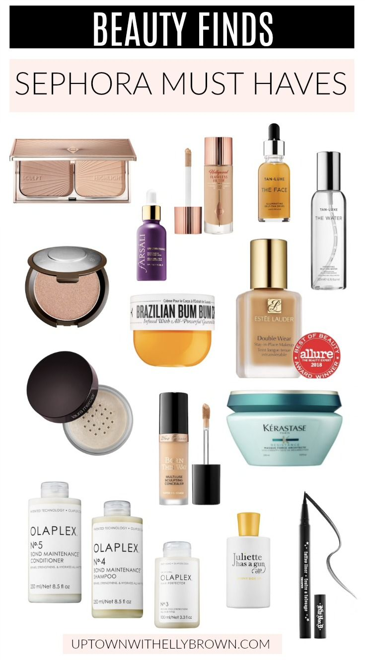 Elly Brown from Uptown with Elly Brown shares her Sephora must haves!