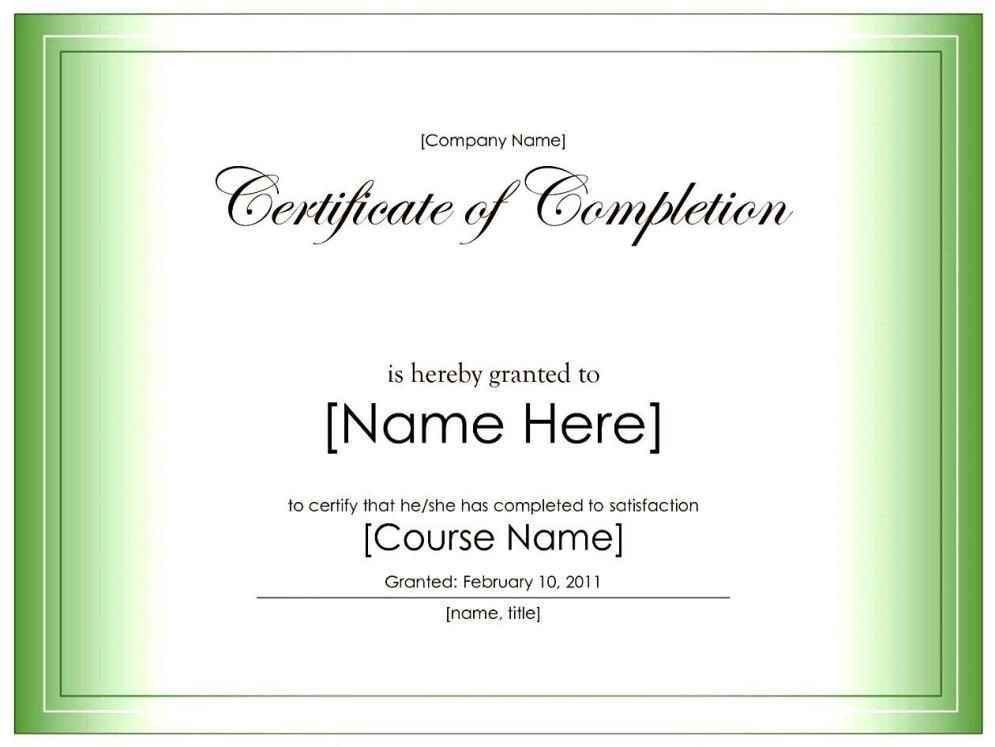 Free Blank Certificates Blank Certificate Templates, Sample - printable certificate of attendance