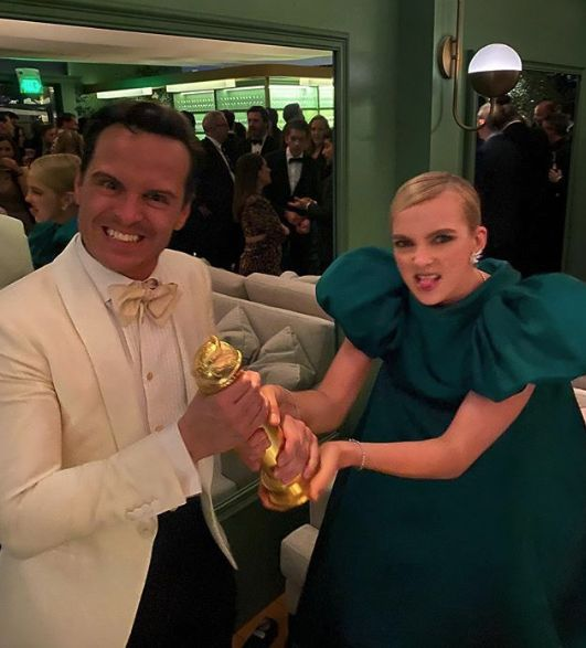 Jodie Comer And Andrew Scott Don't Look Too Fussed About Missing Out On Golden Globes