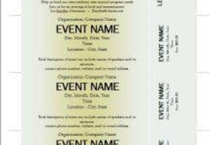 make your own tickets template node2003-cvresumepaasprovider