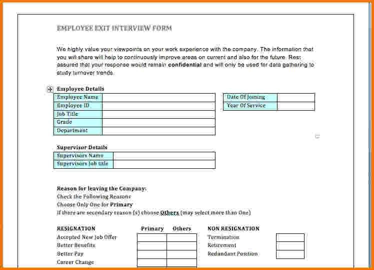 ... Exit Form Template 8 Sample Employee Clearance Forms Sample Forms    Sample Employee Form ...