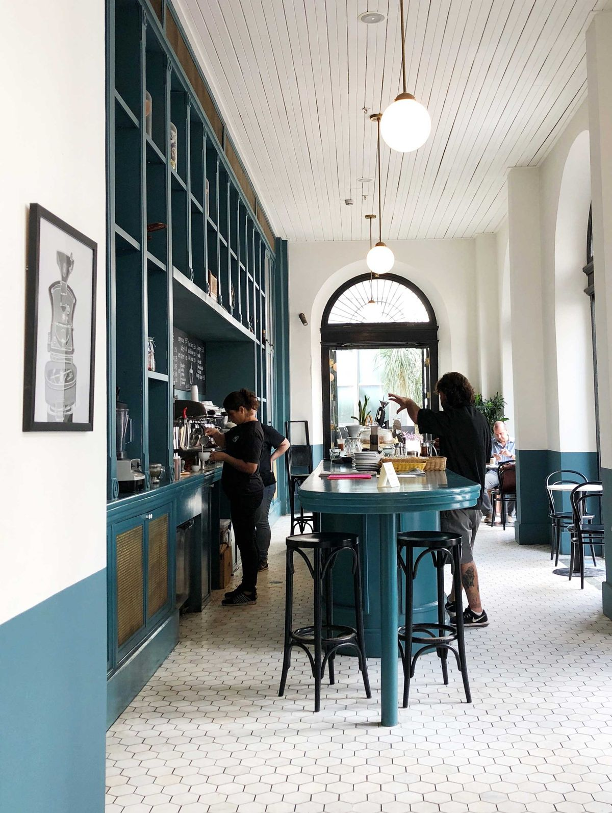 Swell Guide to Panama. Cafe Unido at The American Trade Hotel. Photo by Lesley Robb.