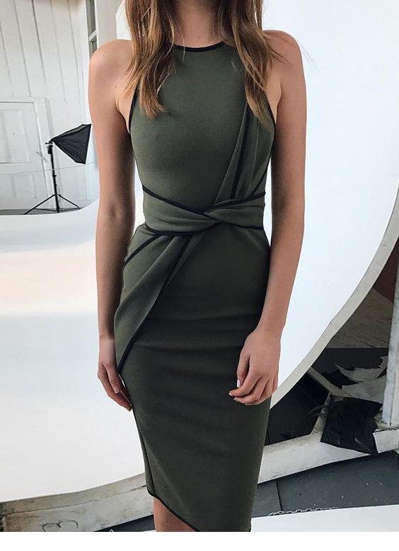Nice tied dress