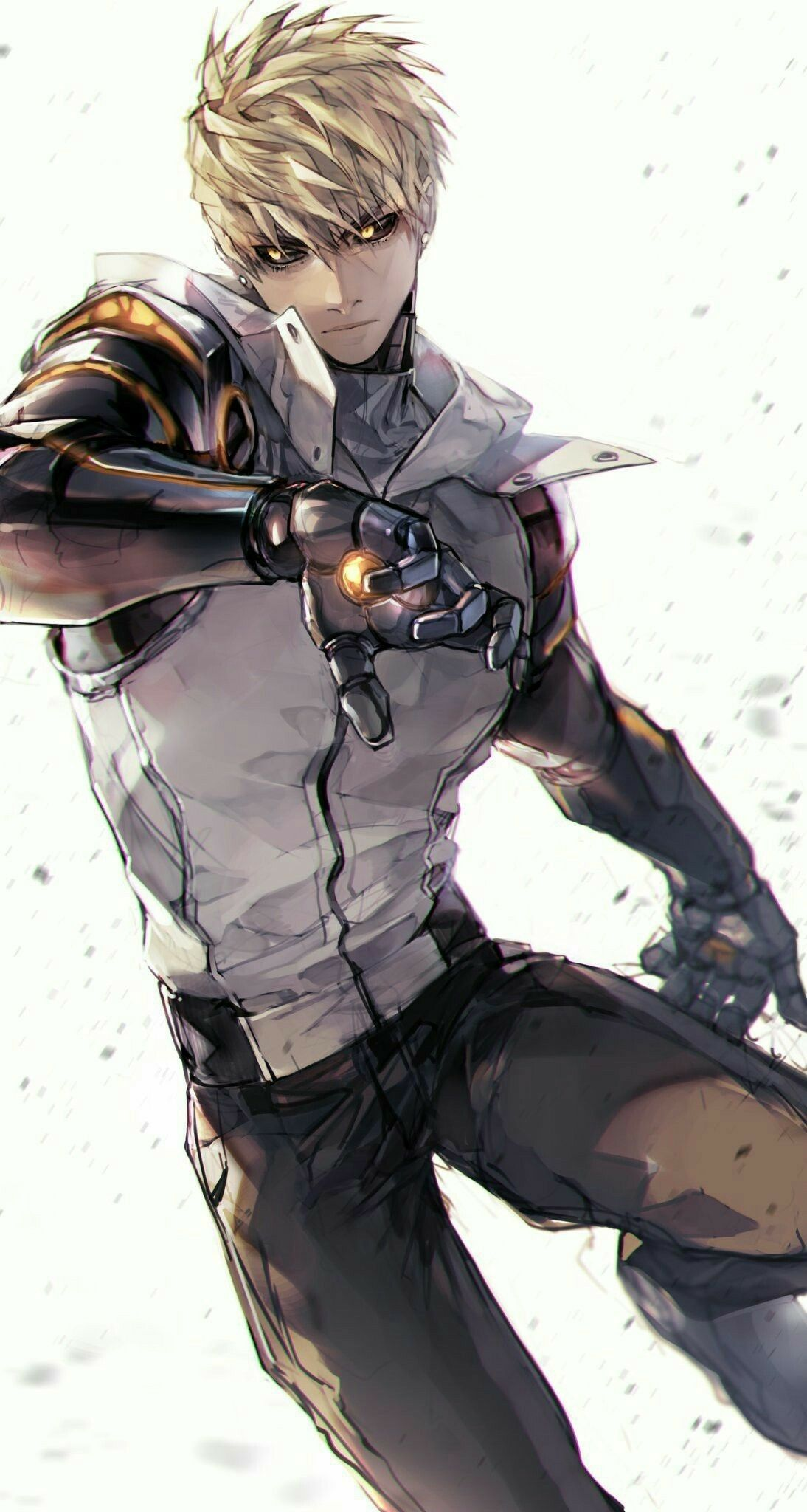 genos fanart onepunchman One punch man anime, One