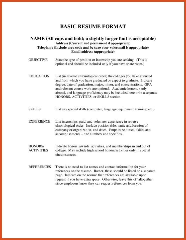 how to write reference for resume