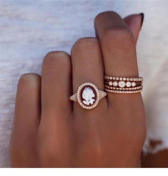 Beautiful rose ring