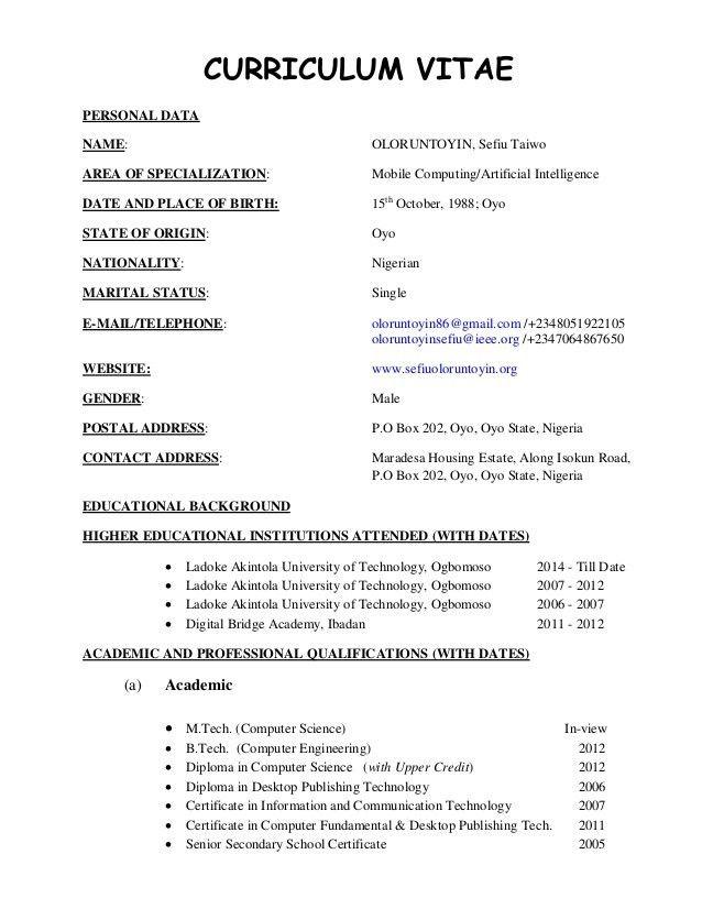 cv format resume curriculum vitae sample format free cv template resume cv sample