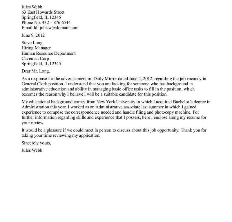 writing a general cover letter download writing a general cover cover letter general