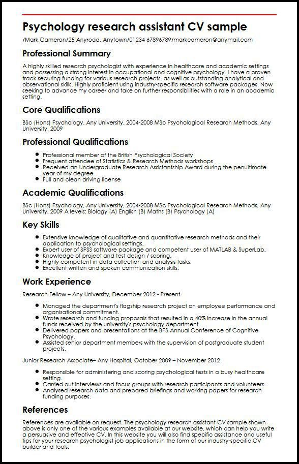 psychology resume sample psychology resume templates branch psychology resume template - Psychology Resume Template