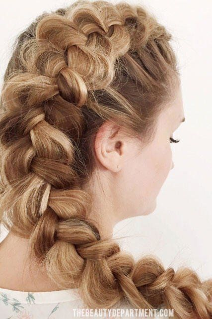 Beautiful Prom Hairstyles That'll Steal the Show: Romantic Dutch Braid