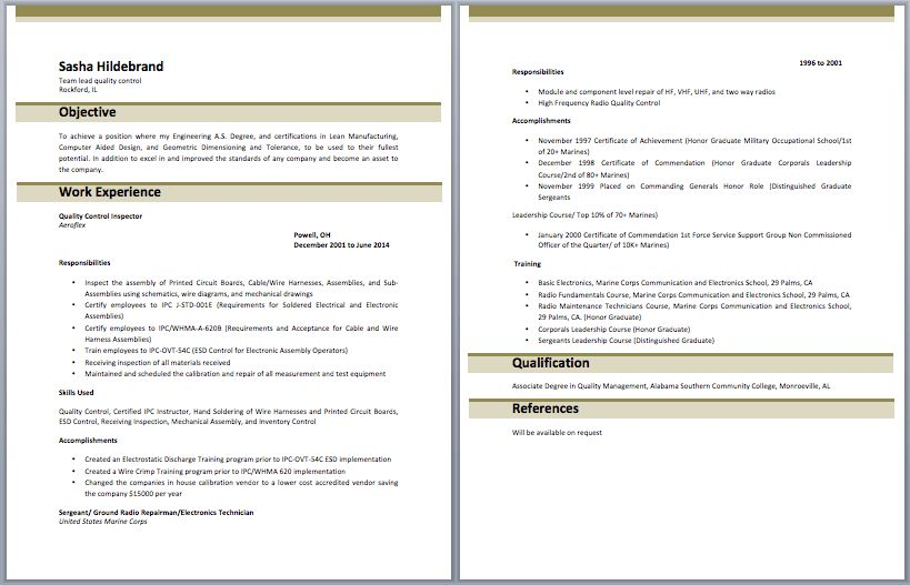 quality control clerk sample resume 31 quality control resume - Sample Resume For Quality Control