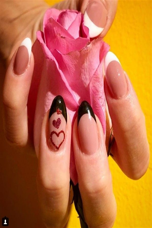 Top 33 Lovely Heart Nail Art Design Trendy Ideas – Fashonails