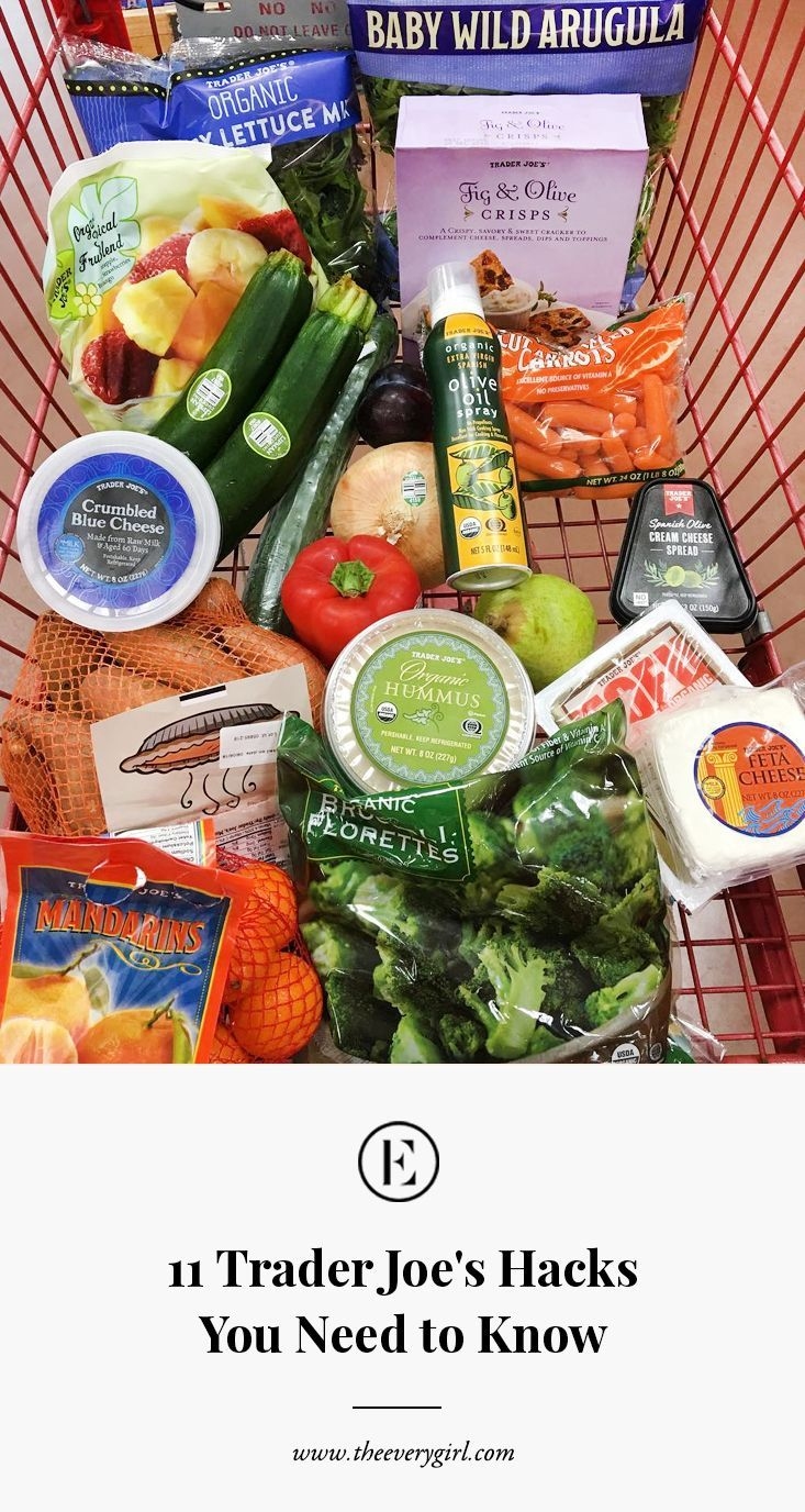 11 Trader Joe's Hacks You Need to Know #theeverygirl