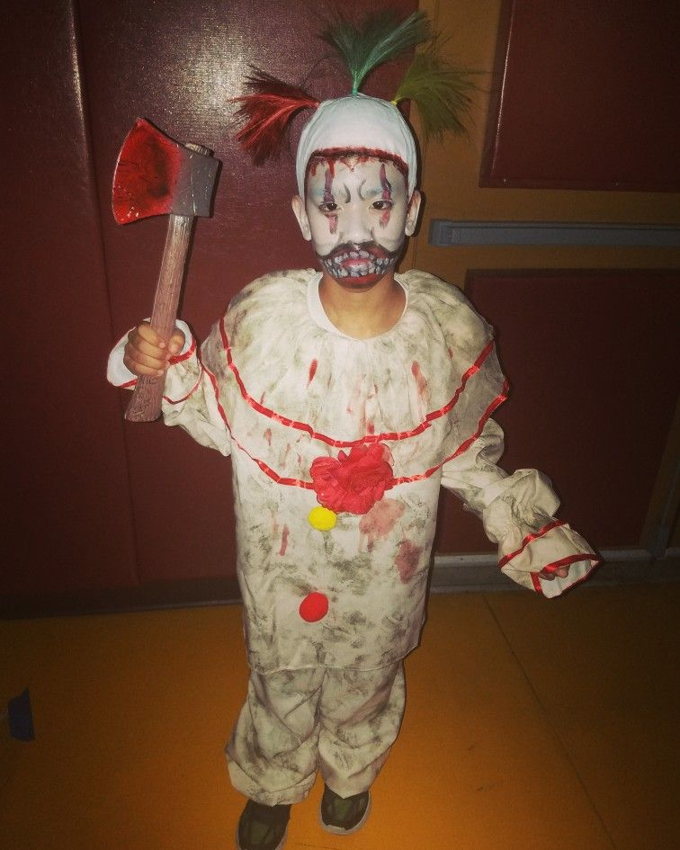 Twisty The Clown. American Horror Story. Halloween Costume