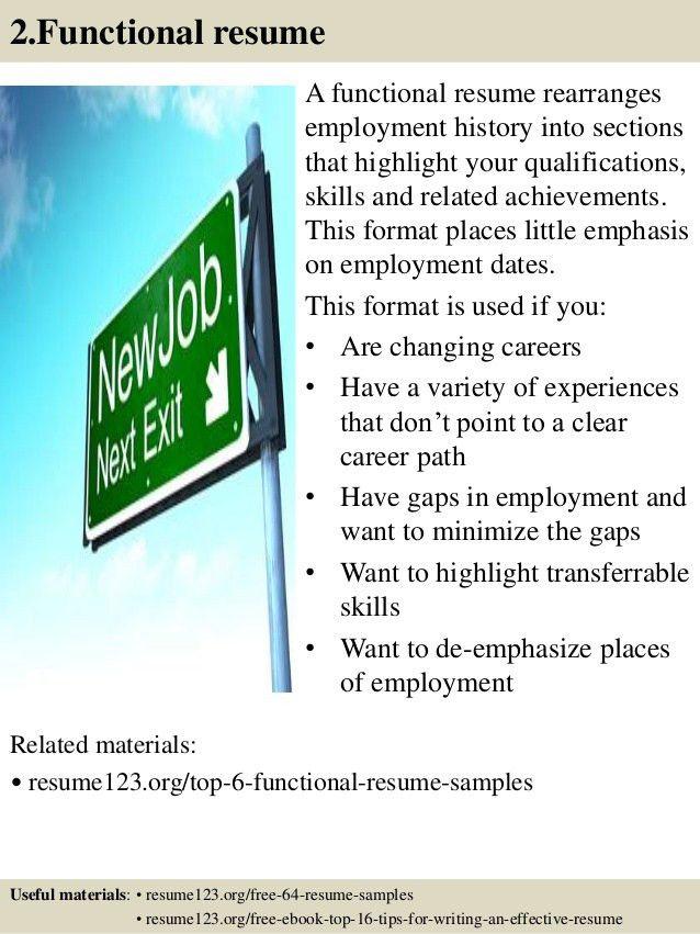 employment specialist resume
