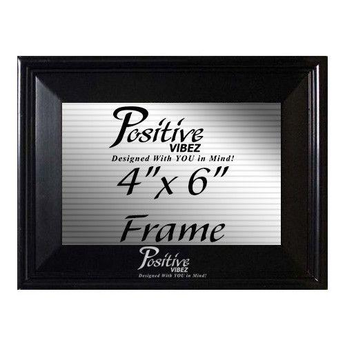 "Saved by's 'in #vybez Pinterest Resmi (257408934933811358) - Positive Vibez 4"" x 6"" Photo Frame"