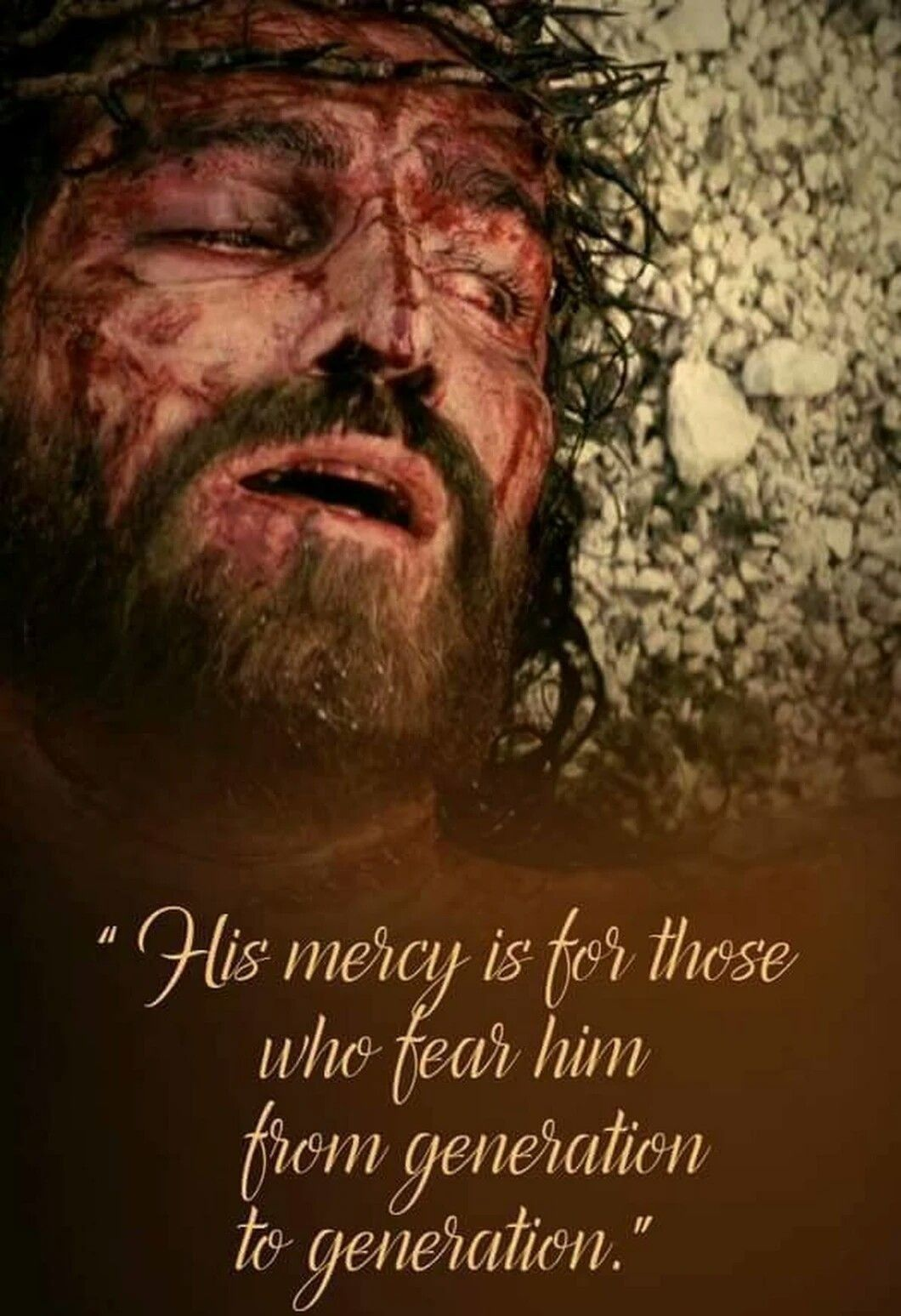 Photo from the movie.. The Passion Of The Christ. Jim
