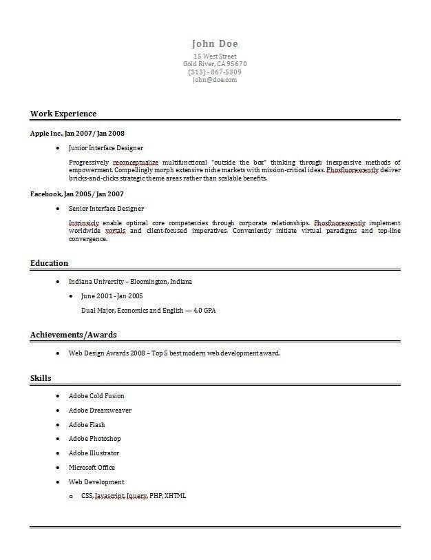 Best Online Resume Builder Free Online Resume Builder, Resume - free online resume templates