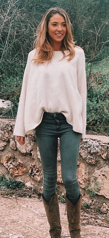 white long sleeve poncho #summer #outfits