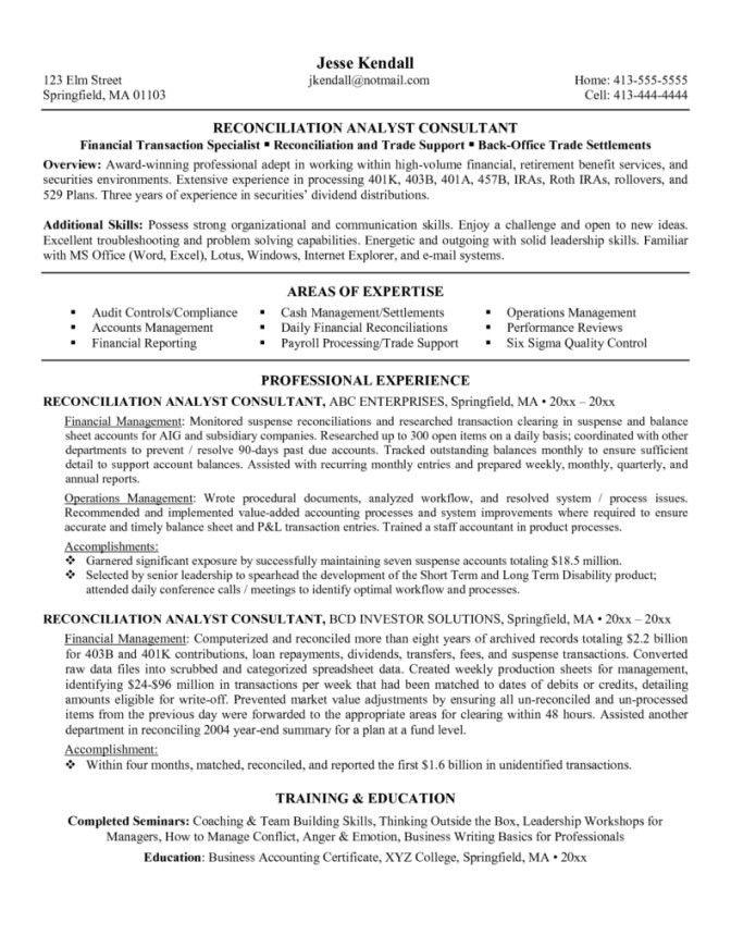 Lean Specialist Sample Resume Lean Specialist Sample Resume