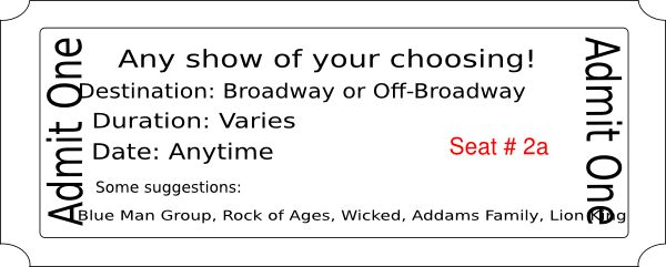 Superior ... Broadway Ticket Template Broadway Clipart Free Download Clip Art    Event Ticket Template Free ... With Broadway Ticket Template