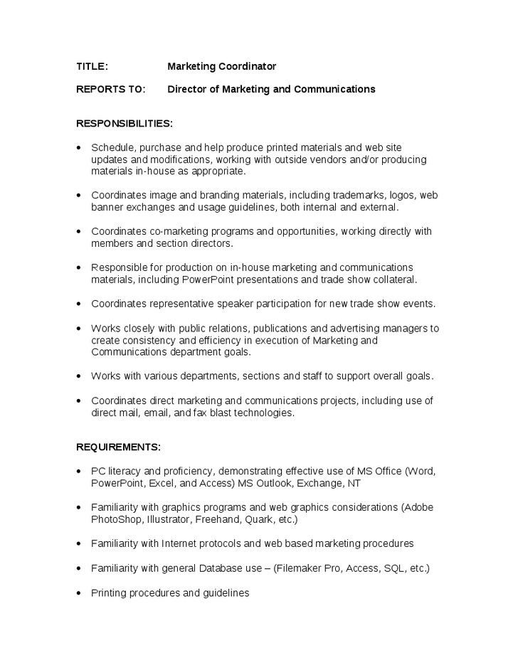 trade marketing job description sales and marketing job marketing