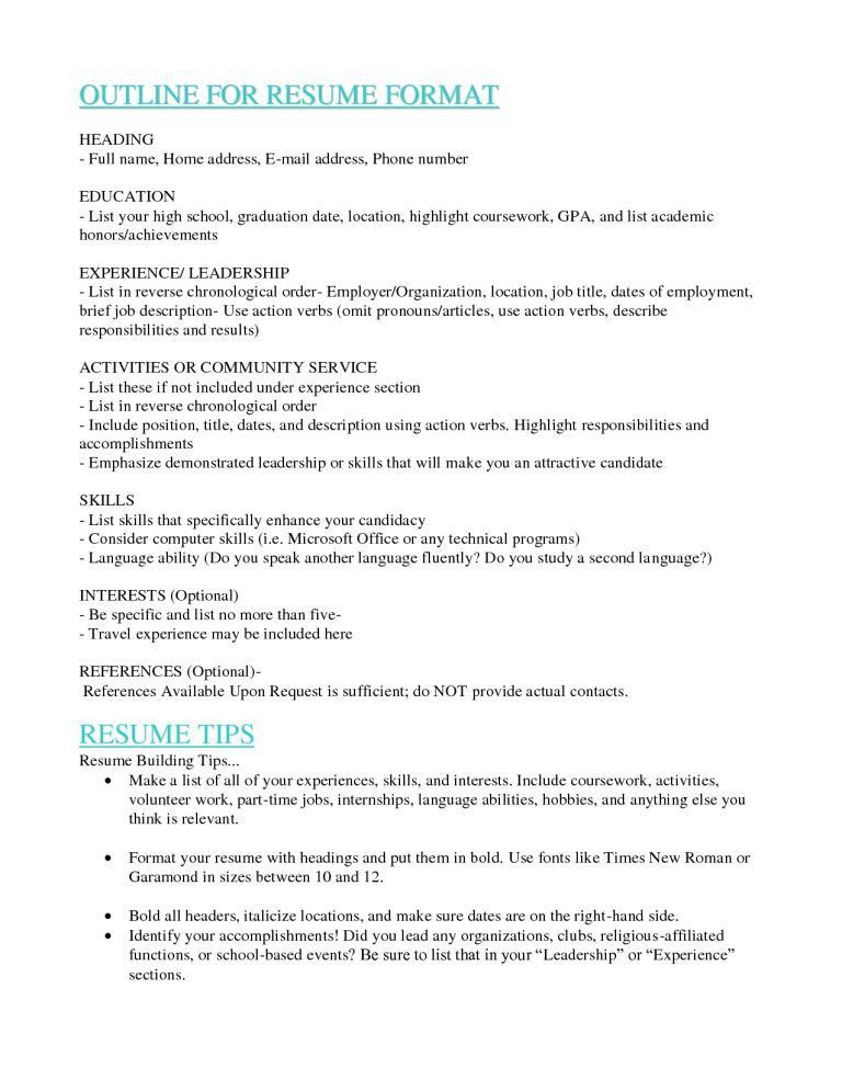 chronological order resume example reverse chronological resume