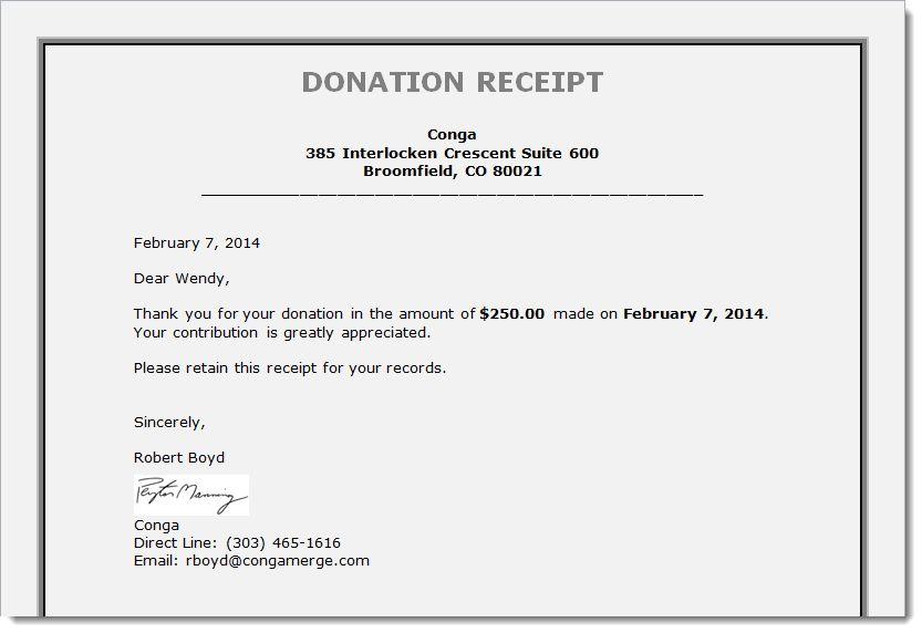 Donation Receipt Template Donation Receipt Template 9 Free Word - donation receipt letter