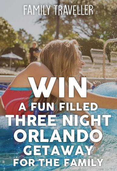 WIN a Fun-Filled, Three-Night Orlando Getaway for the Family