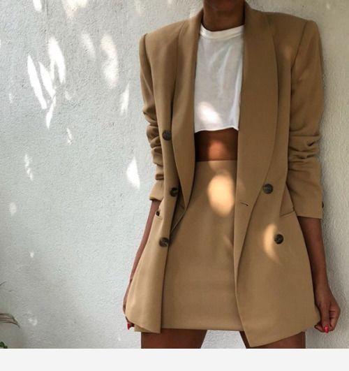 Nice beige suit