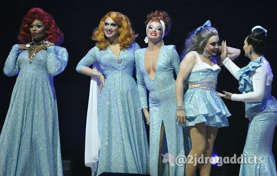Christmas Queens.Christmas Queens 3 Show In La Photo By 2jdragaddicts
