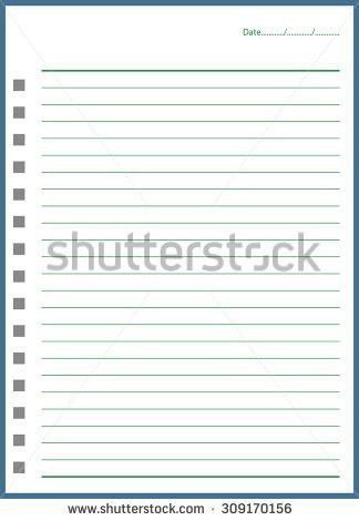 Notebook Paper Template For Word. Cute Word Notebook Template Images Resume  Ideas Namanasa Com . Notebook Paper Template For Word  Notebook Paper Word Template