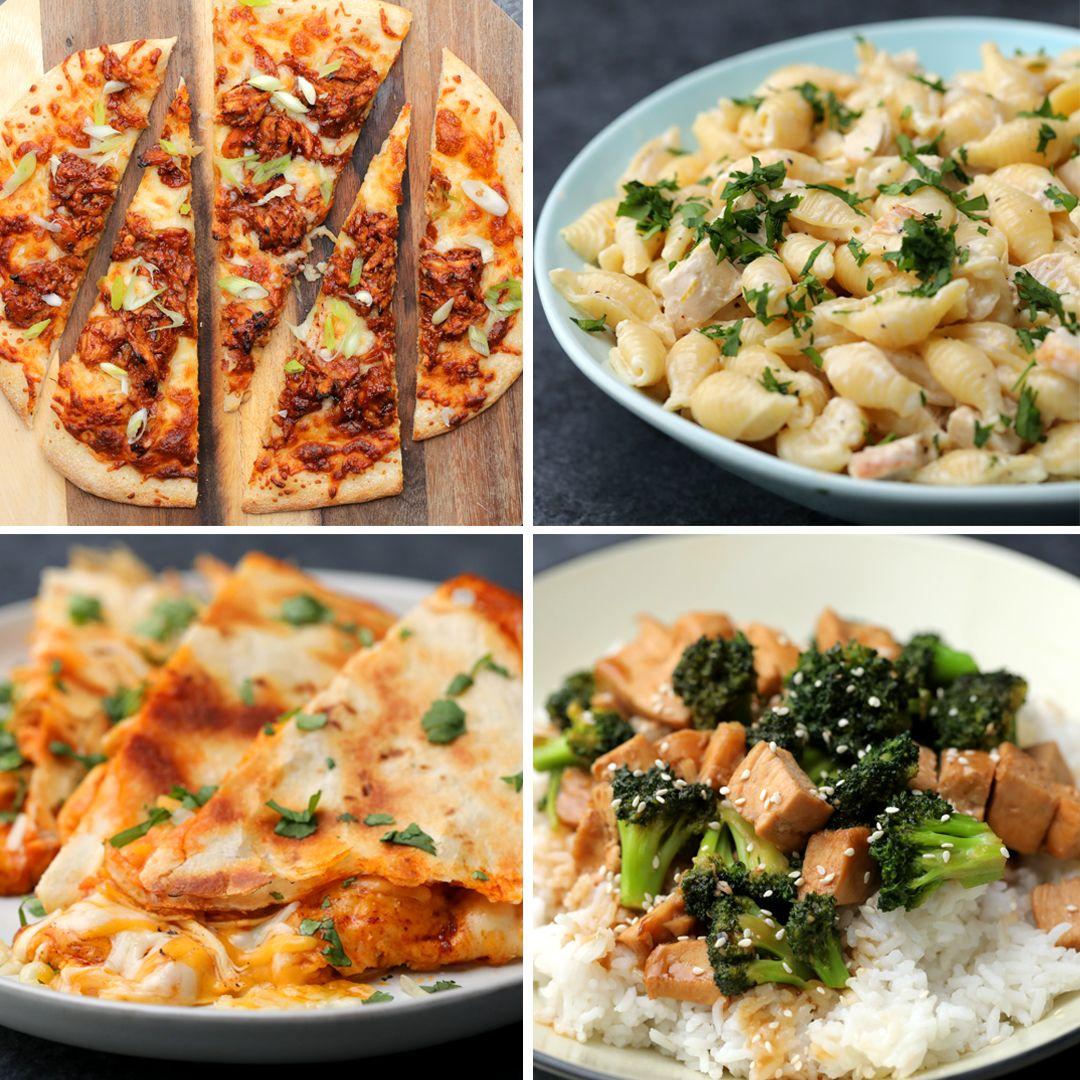 5-Ingredient Chicken Dinners 4 Ways