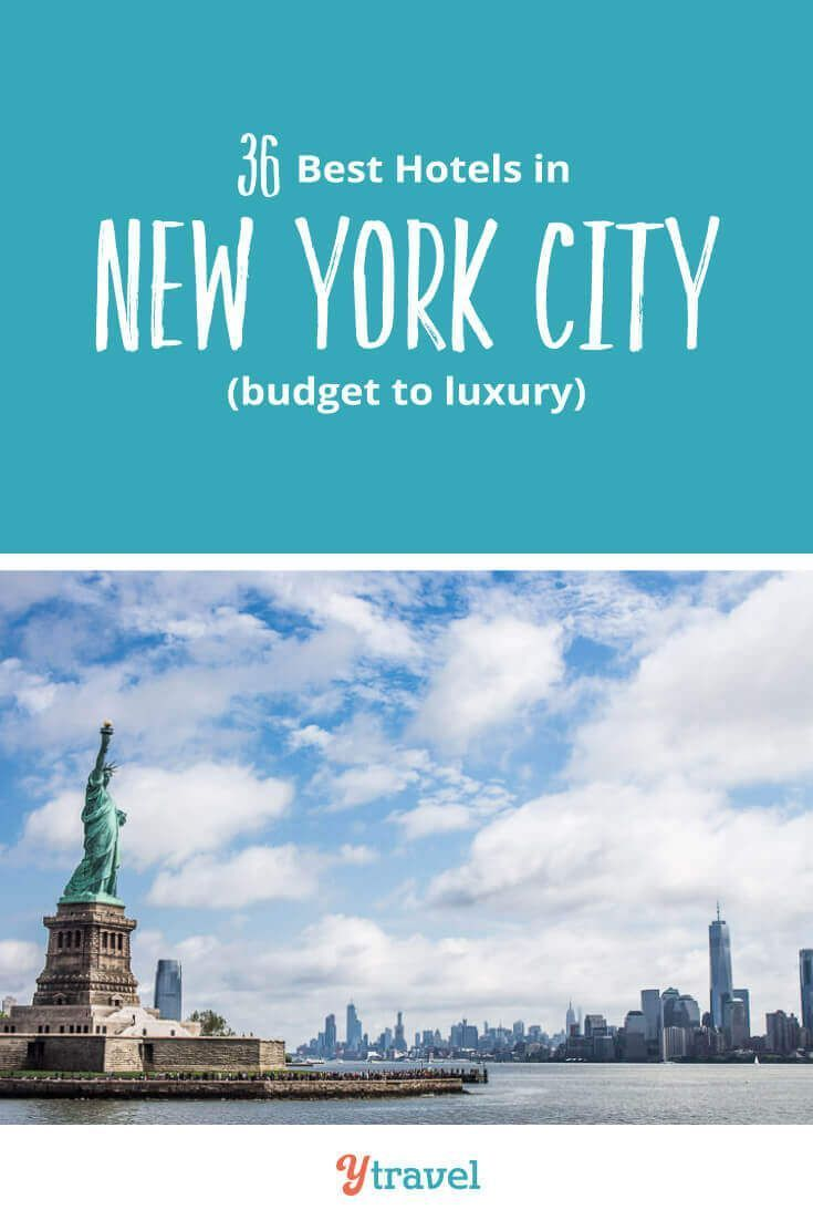 New York City Accommodation from budget to luxury