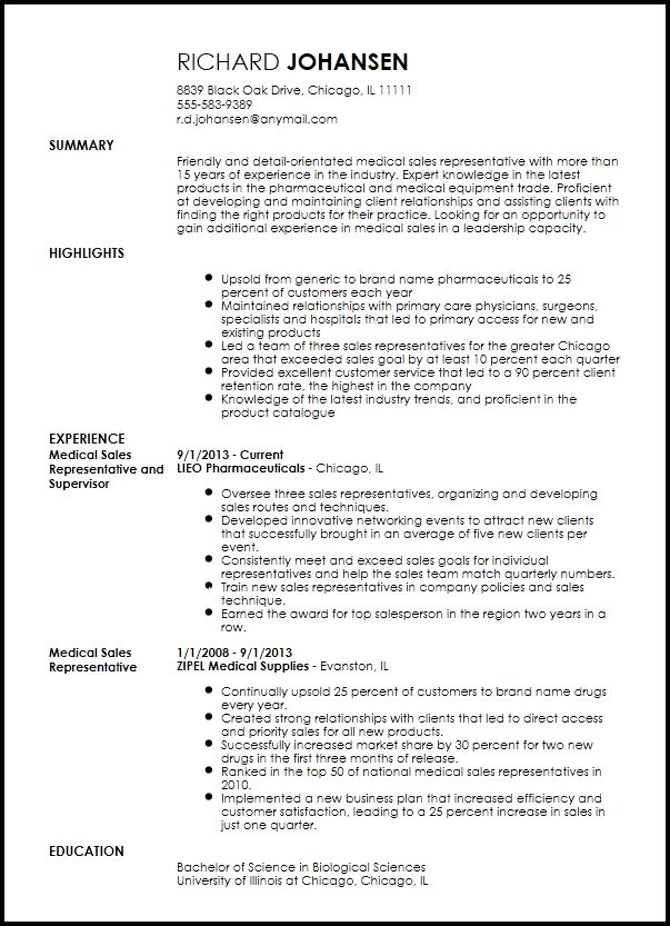 medical rep resume medical representative resumethanavee2 professional medical resume - Sample Resume For Medical Representative