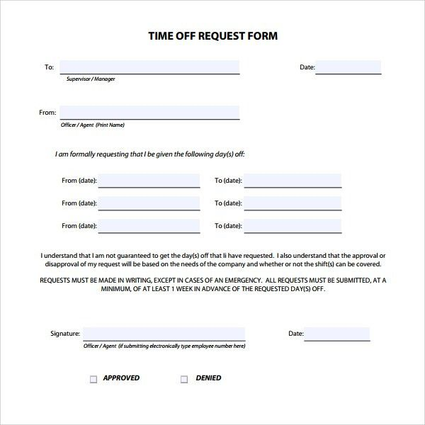 vacation request form hitecauto - avid tutorial request form