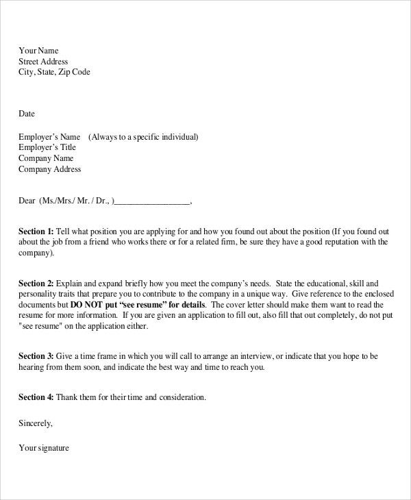 Proper Format Of A Cover Letter Not Proofreading What Information - proper format of resume