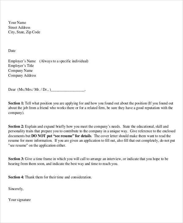 Proper Cover Letter] Cover Letter Proper Business Letter Format
