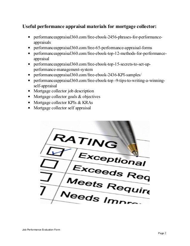 mortgage collector sample resume resume-templatepaasprovider
