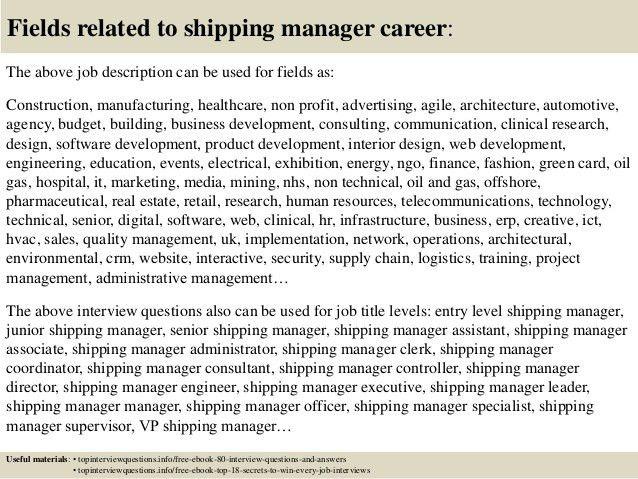 Logistics Assistant Job Description - Best Resumes - logistics coordinator job description